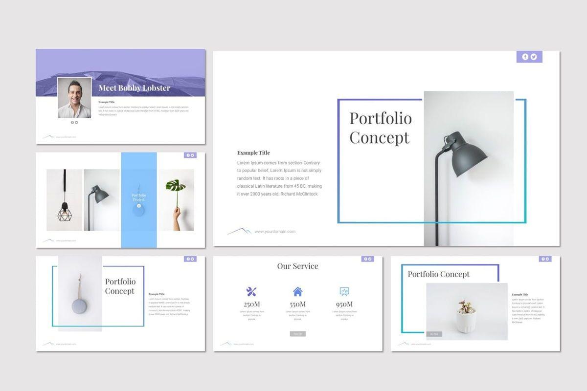 Everest - PowerPoint Template, Slide 4, 06965, Presentation Templates — PoweredTemplate.com