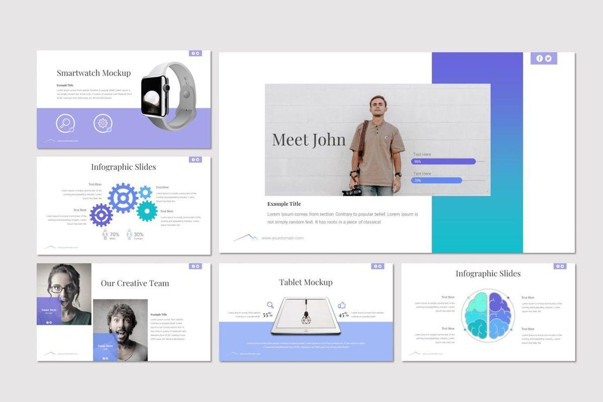 Everest - PowerPoint Template, Slide 5, 06965, Presentation Templates — PoweredTemplate.com