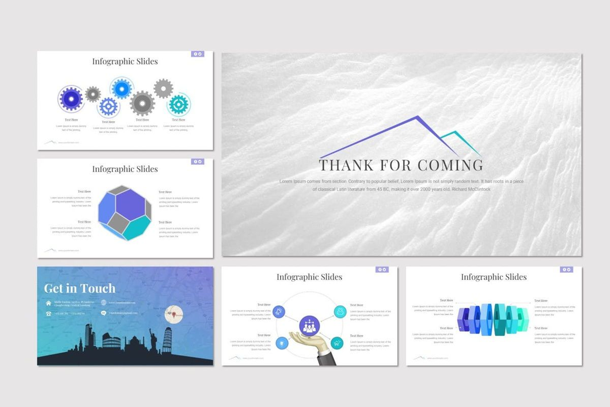 Everest - PowerPoint Template, Slide 6, 06965, Presentation Templates — PoweredTemplate.com