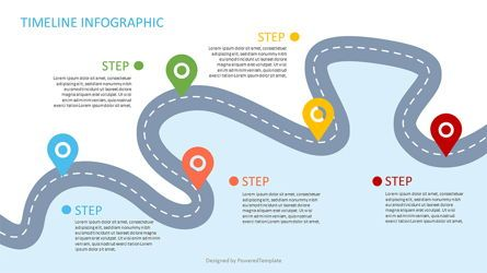 Business Models: Roadmap with Milestones Infographic #06969