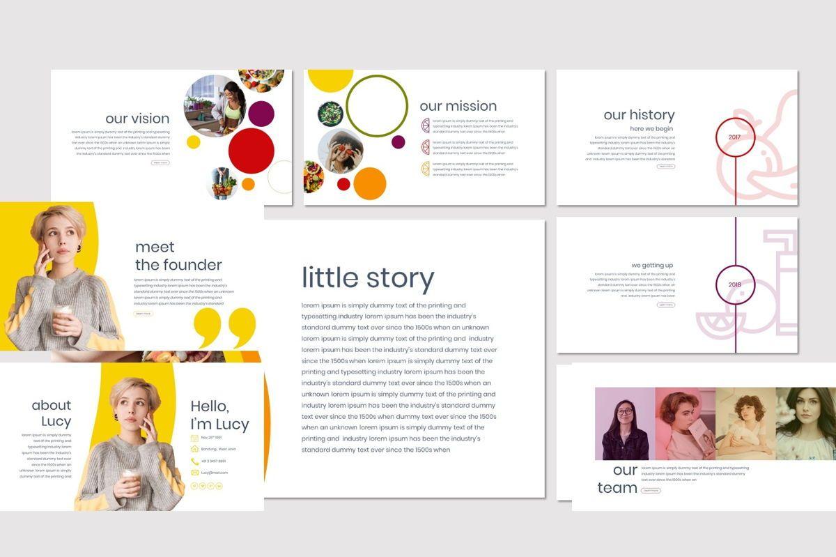 Tutti Frutti - Keynote Template, Slide 3, 06974, Presentation Templates — PoweredTemplate.com