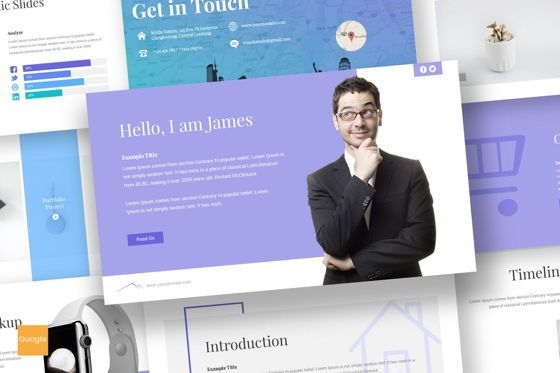 Presentation Templates: Everest - Google Slides Template #06978