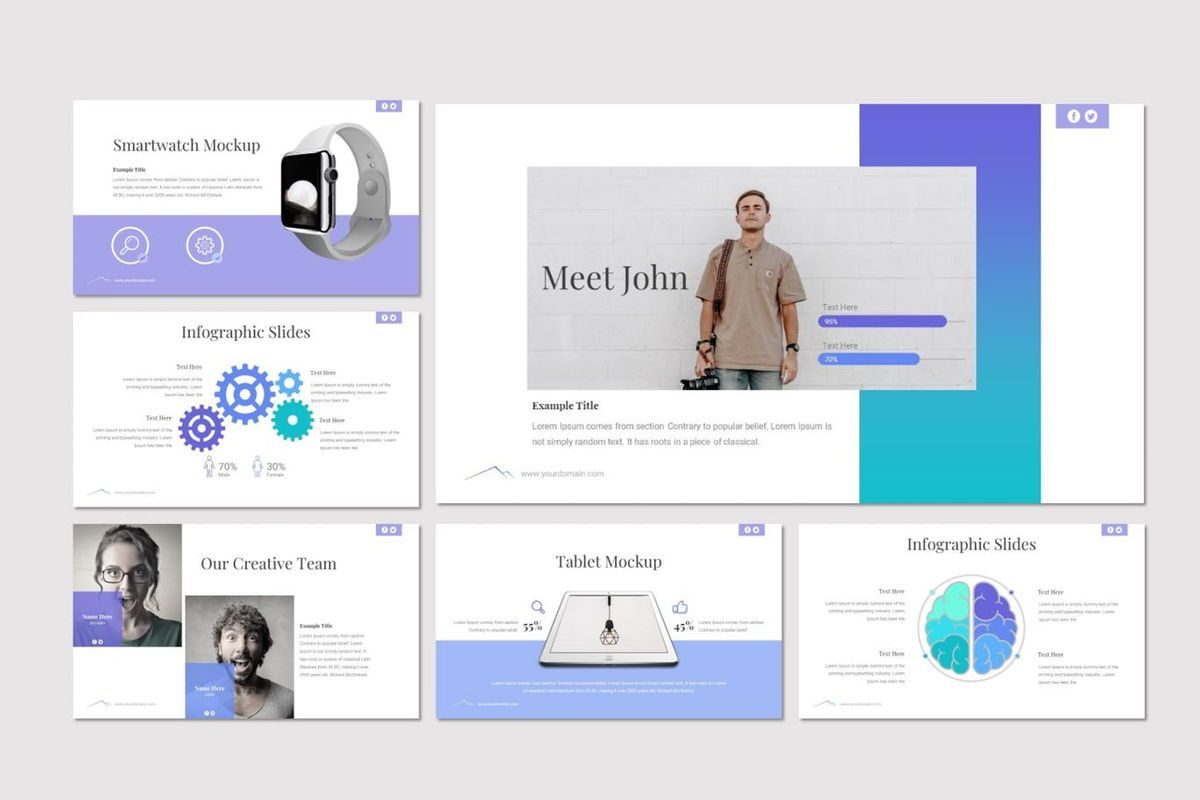 Everest - Google Slides Template, Slide 5, 06978, Presentation Templates — PoweredTemplate.com