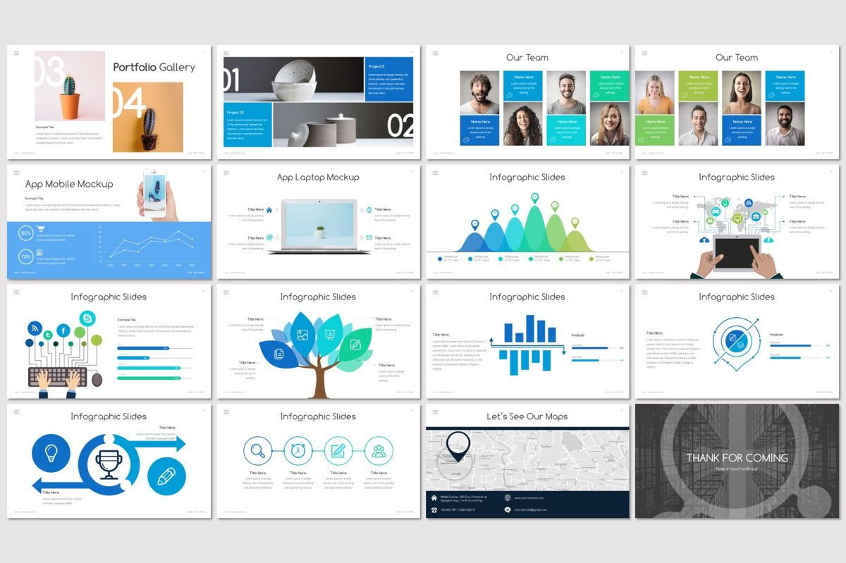 Union - Powerpoint Template, Slide 3, 06979, Presentation Templates — PoweredTemplate.com
