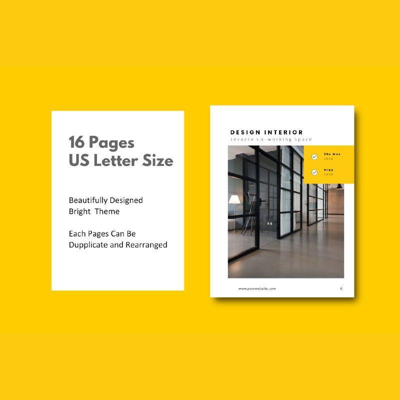 Graphic designer portfolio ebook powerpoint presentation templates, Slide 4, 06980, Presentation Templates — PoweredTemplate.com