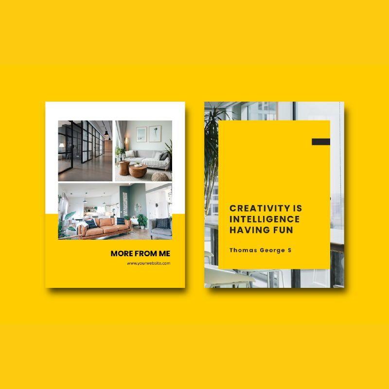 Graphic designer portfolio ebook powerpoint presentation templates, Slide 7, 06980, Presentation Templates — PoweredTemplate.com