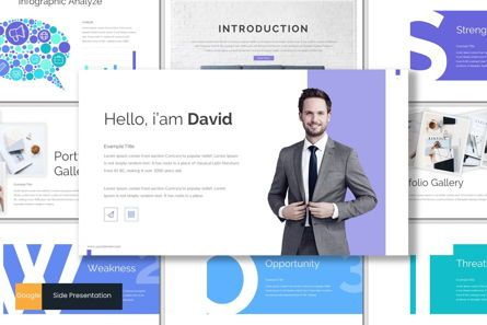 Presentation Templates: Side - Google Slides Template #06981