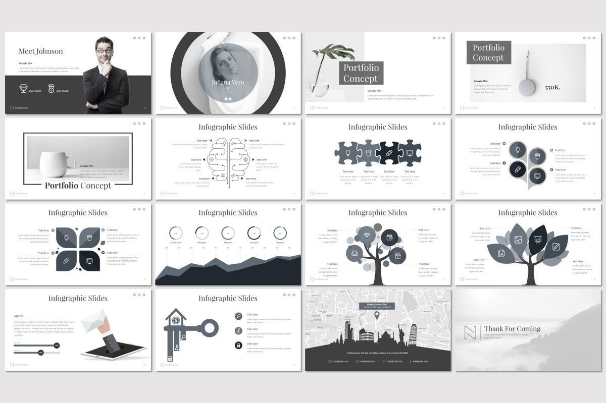 Nora - Google Slides Template, Slide 3, 06982, Presentation Templates — PoweredTemplate.com