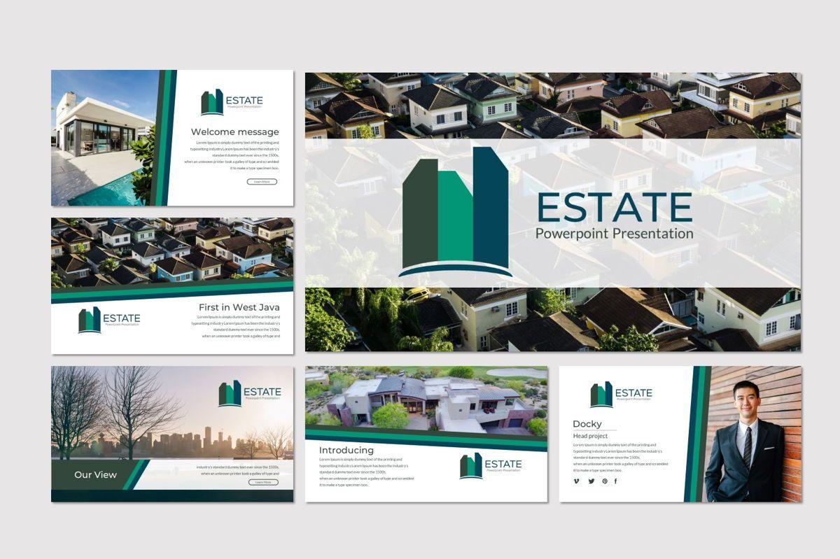Estate - PowerPoint Template, Slide 2, 06983, Presentation Templates — PoweredTemplate.com