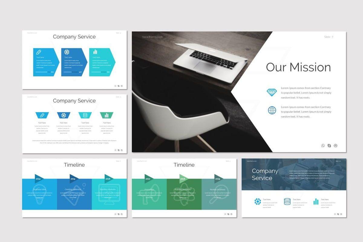 Vara - PowerPoint Template, Slide 3, 06984, Presentation Templates — PoweredTemplate.com