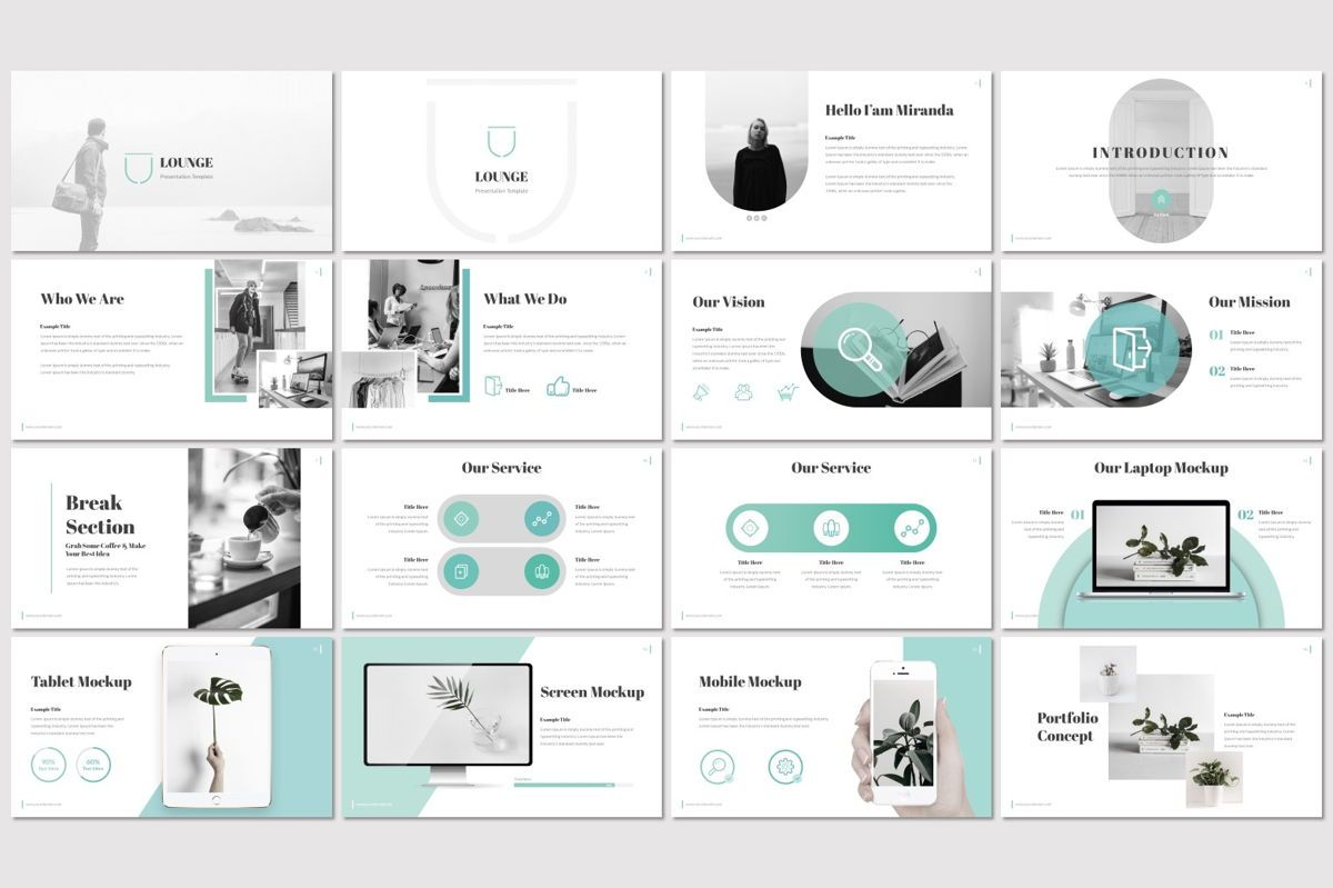 Lounge - Keynote Template, Slide 2, 06988, Presentation Templates — PoweredTemplate.com