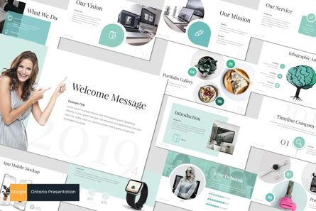 Presentation Templates: Ontario - Google Slides Template #06990