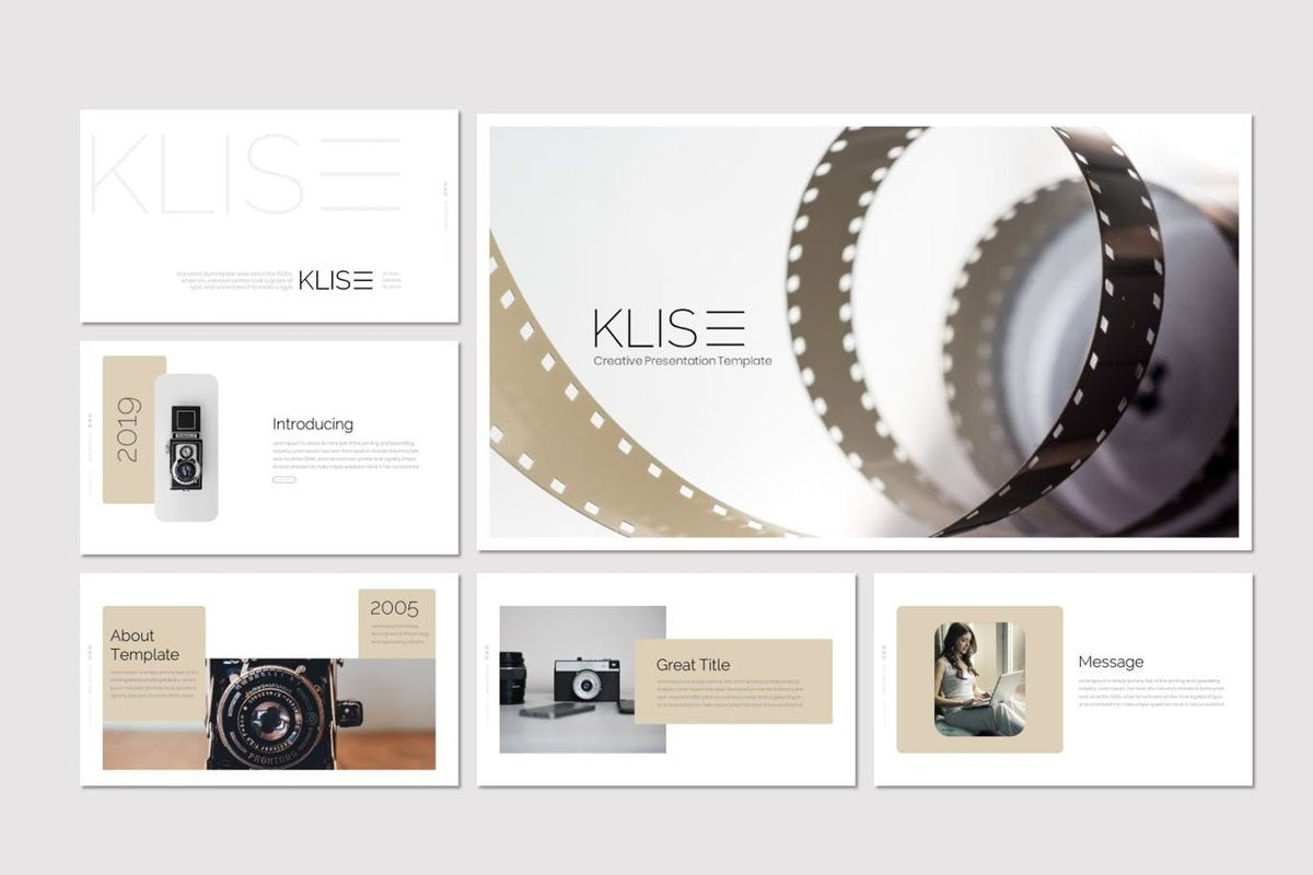Klise - PowerPoint Template, Slide 2, 06992, Presentation Templates — PoweredTemplate.com