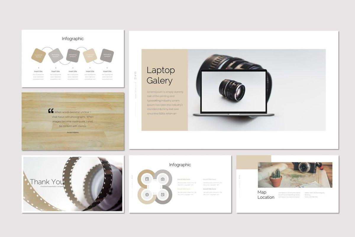 Klise - PowerPoint Template, Slide 6, 06992, Presentation Templates — PoweredTemplate.com