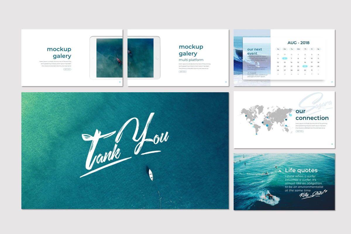 Sagara - PowerPoint Template, Slide 5, 06995, Presentation Templates — PoweredTemplate.com