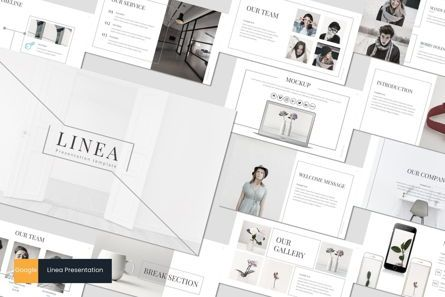 Presentation Templates: Linea - Google Slides Template #06996