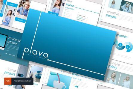 Presentation Templates: Plava - PowerPoint Template #06998
