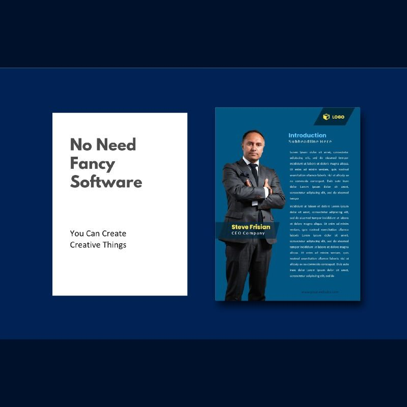 Professional graphic designer portfolio powerpoint template, Slide 2, 07000, Business Models — PoweredTemplate.com