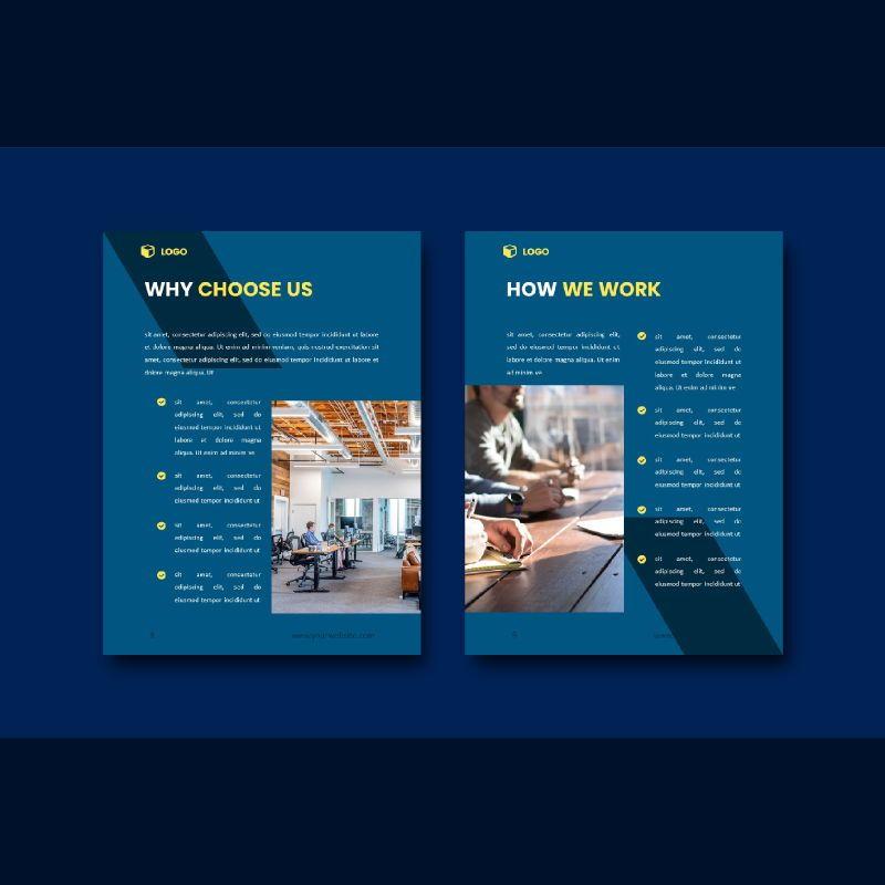 Professional graphic designer portfolio powerpoint template, Slide 5, 07000, Business Models — PoweredTemplate.com