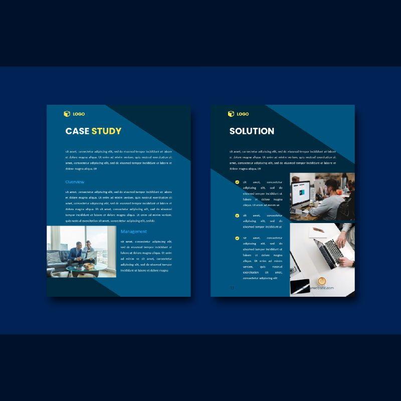 Professional graphic designer portfolio powerpoint template, Slide 6, 07000, Business Models — PoweredTemplate.com