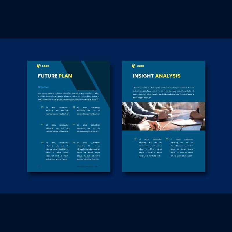 Professional graphic designer portfolio powerpoint template, Slide 7, 07000, Business Models — PoweredTemplate.com