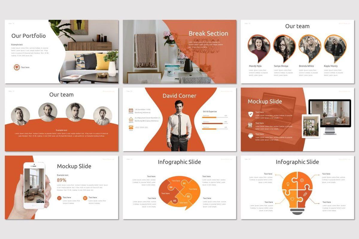 Bloom - PowerPoint Template, Slide 4, 07005, Presentation Templates — PoweredTemplate.com