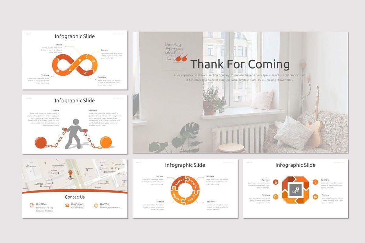 Bloom - PowerPoint Template, Slide 5, 07005, Presentation Templates — PoweredTemplate.com