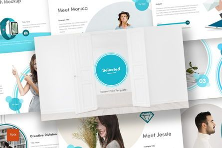Presentation Templates: Selected - PowerPoint Template #07006