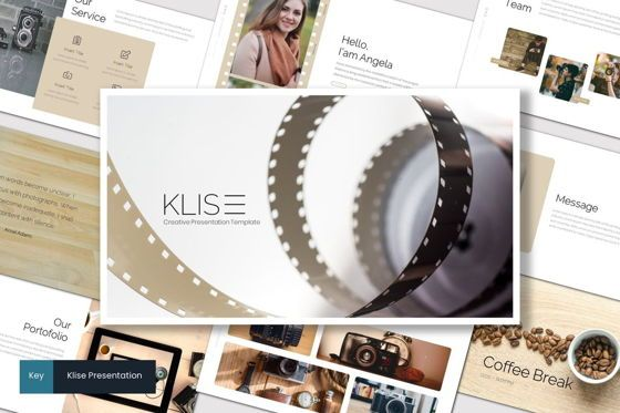 Presentation Templates: Klise - Keynote Template #07007