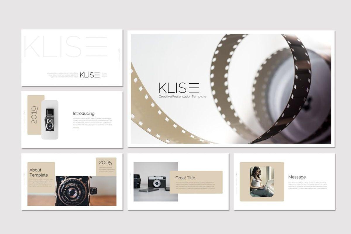 Klise - Keynote Template, Slide 2, 07007, Presentation Templates — PoweredTemplate.com