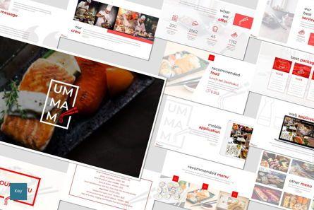 Presentation Templates: Ummami - Keynote Template #07008