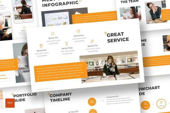 Presentation Templates: Educate - PowerPoint Template #07011