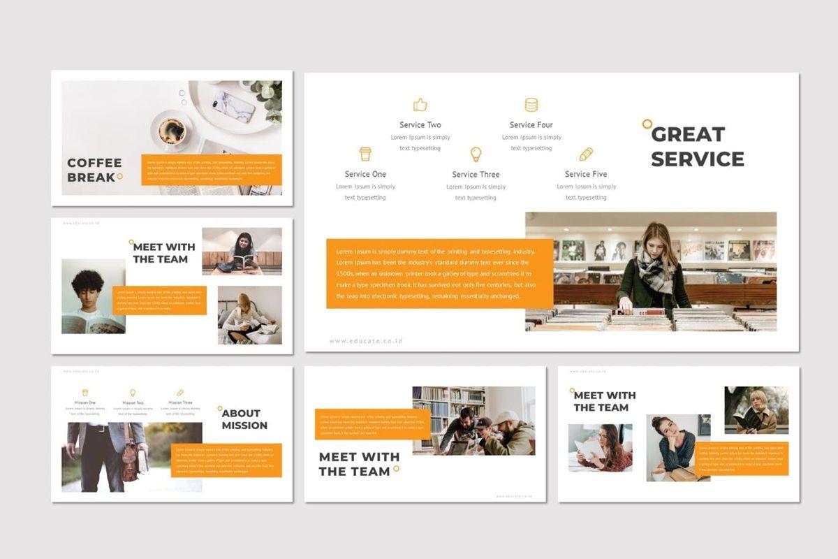 Educate - PowerPoint Template, Slide 3, 07011, Presentation Templates — PoweredTemplate.com