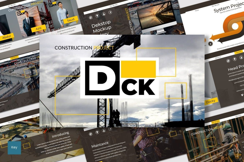 DCK - Keynote Template, 07012, Presentation Templates — PoweredTemplate.com
