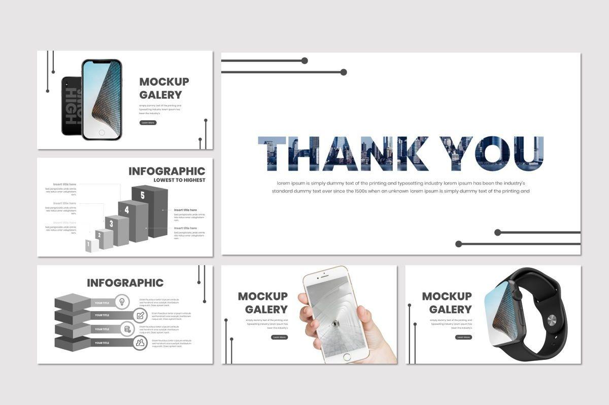 High and Low - PowerPoint Template, Slide 5, 07019, Presentation Templates — PoweredTemplate.com
