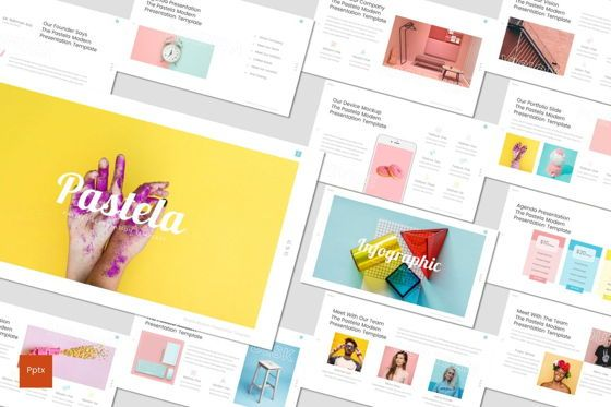Presentation Templates: Pastela - PowerPoint Template #07020