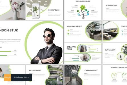 Presentation Templates: Biots - Google Slides Template #07024