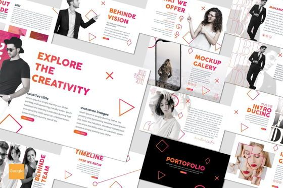 Presentation Templates: Behinde - Google Slides Template #07027