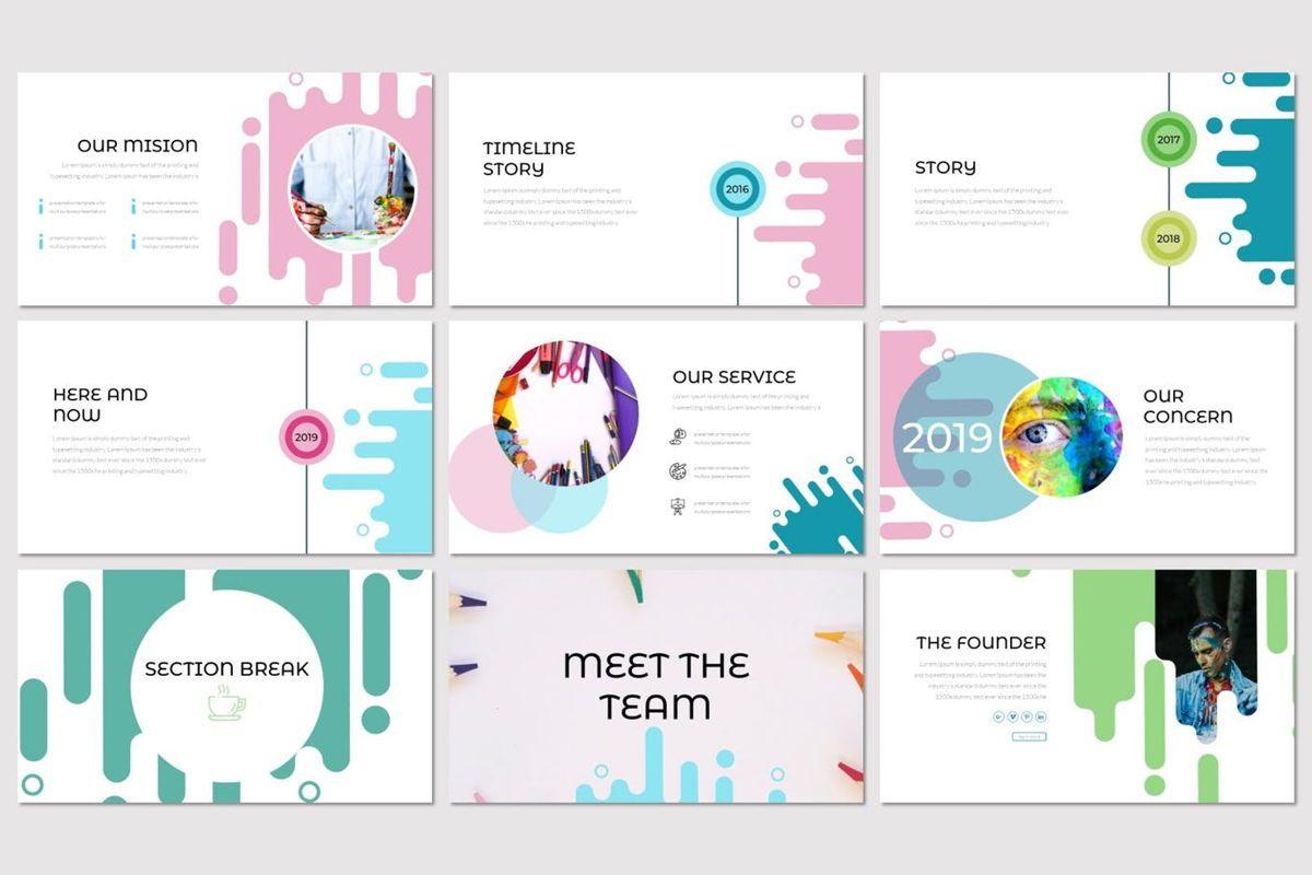 Vernice - PowerPoint Template, Slide 3, 07029, Presentation Templates — PoweredTemplate.com