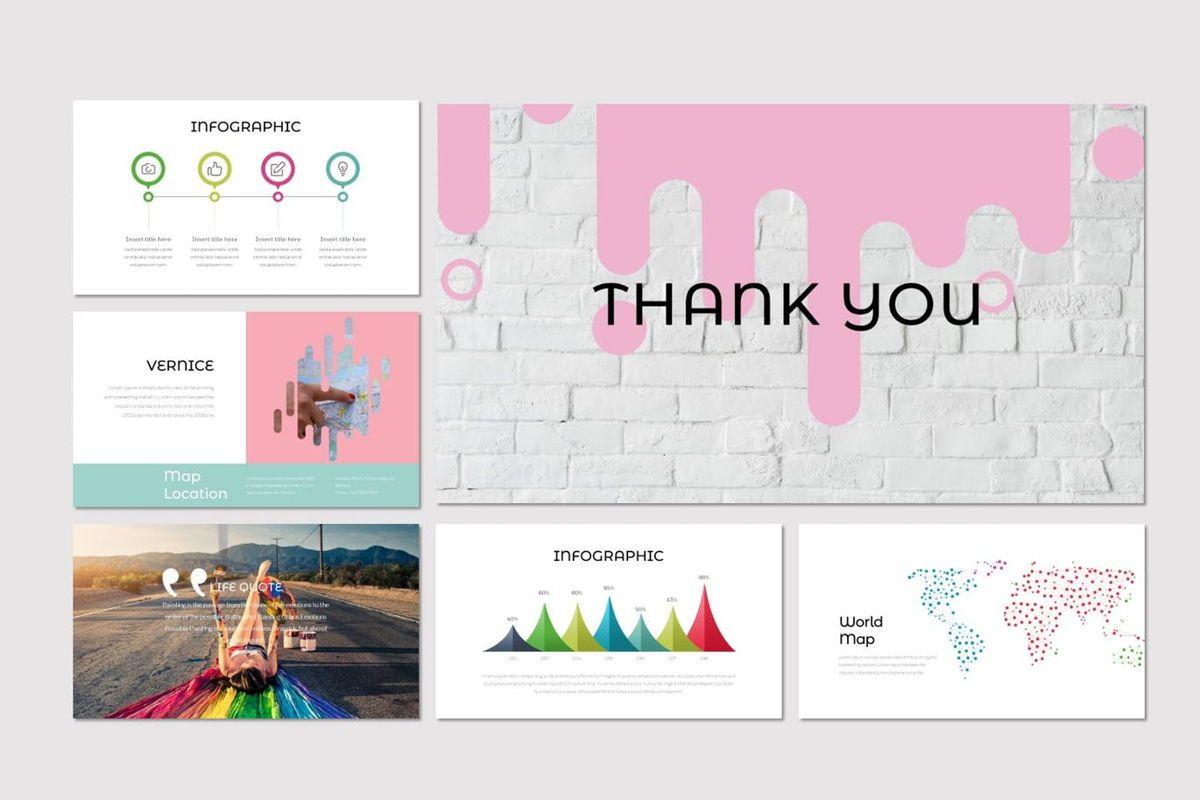 Vernice - PowerPoint Template, Slide 5, 07029, Presentation Templates — PoweredTemplate.com
