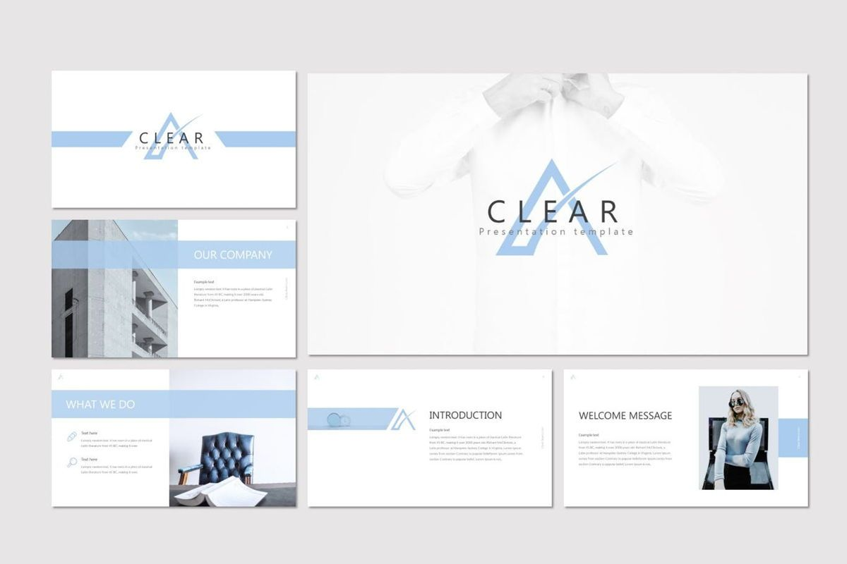 Clear - Google Slides Template, Slide 2, 07031, Presentation Templates — PoweredTemplate.com