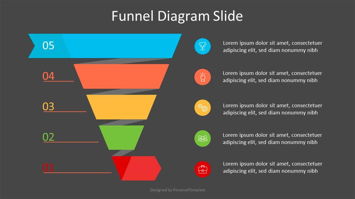Spiral Sales Funnel Infographic, Slide 2, 07033, Business Models — PoweredTemplate.com
