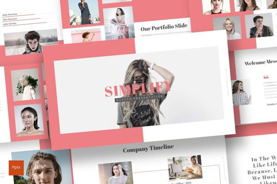 Presentation Templates: Simplify - PowerPoint Template #07036