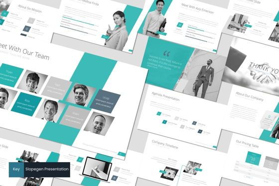 Presentation Templates: Slopegen - Keynote Template #07044