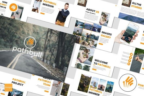 Presentation Templates: Pathbull - Google Slides Template #07049