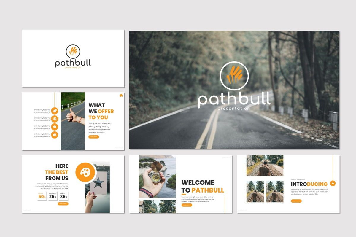 Pathbull - Google Slides Template, Slide 2, 07049, Presentation Templates — PoweredTemplate.com