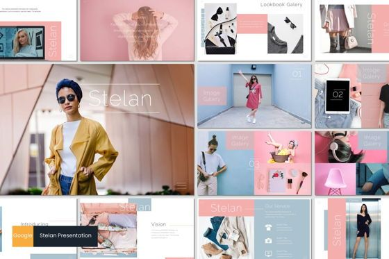 Presentation Templates: Stelan - Google Slides Template #07052