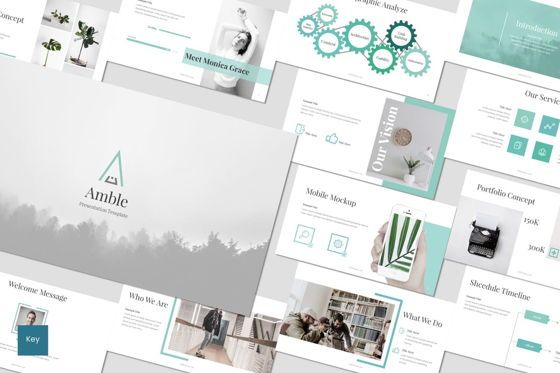 Presentation Templates: Scramble - Keynote Template #07061