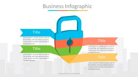 Infographics: Padlock Security Infographic #07066