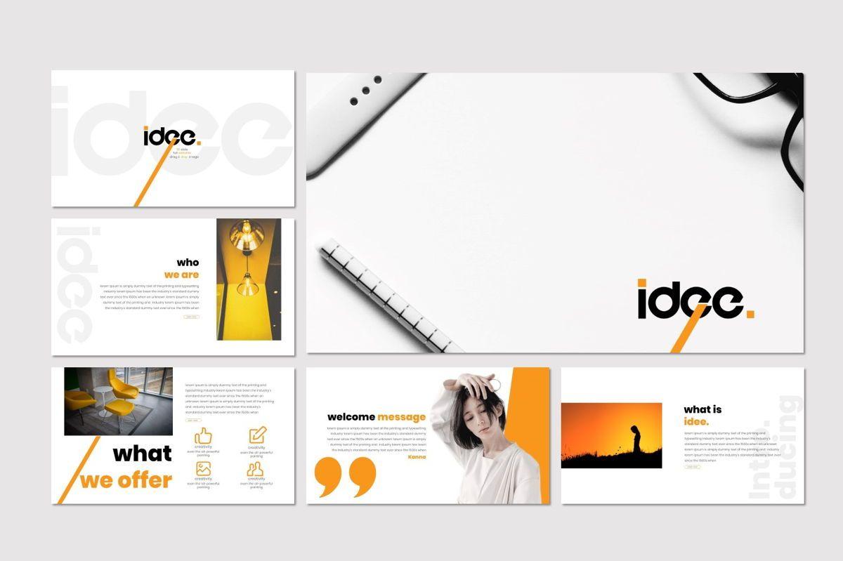Idee - Keynote Template, Slide 2, 07067, Presentation Templates — PoweredTemplate.com